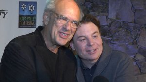 """Manager Shep Gordon  and Mike Myers (""""Supermensch: The Legend of Shep Gordon"""")"""