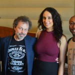 Curtis Armstrong with SIDEWALKS crew