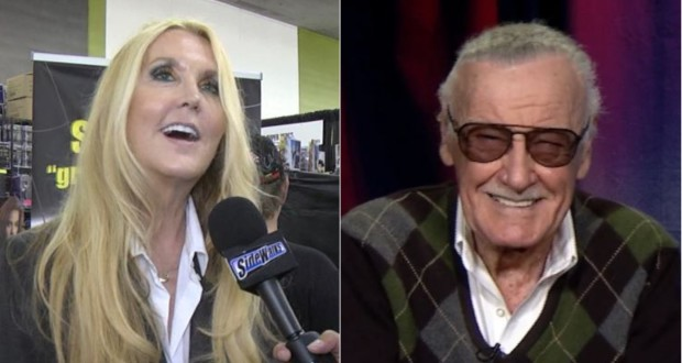 JC Lee and her father Stan Lee