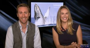 Philippe and Ashlan Cousteau