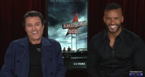 Ian McShane and Ricky Whittle