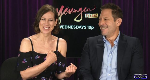 Darren Star and Miriam Shor - Younger