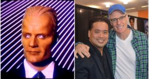 Matt Frewer and Max Headroom