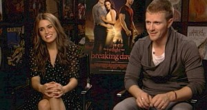 """Twilight"" co-stars Nikki Reed and Charlie Bewley"