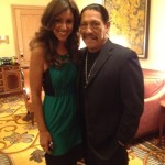 Veronica with Danny Trejo