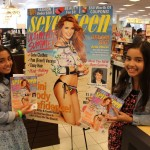 Kids with Bella's magazine cover