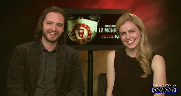 The stars of 12 Monkeys