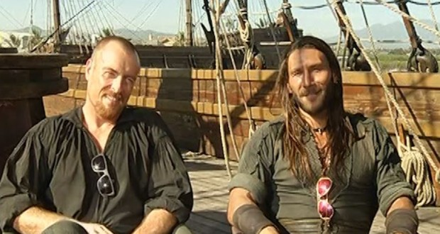 The stars of Black Sails