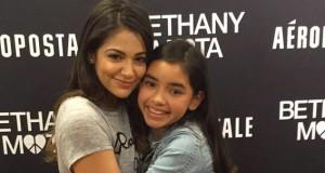 Bethany Mota hug