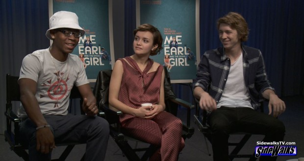 The Stars of Me and Earl and The Dying Girl