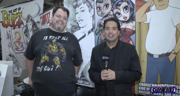 Character Designer/Artist Joel Adams on Sidewalks TV