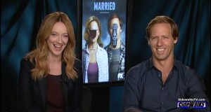Judy Greer and Nat Faxon