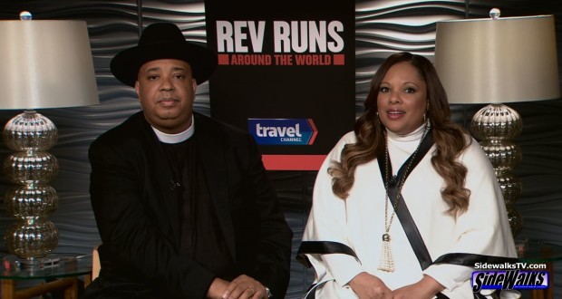 Rev Run and Justine Simmons