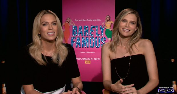"Erin and Sara Foster of ""Barely Famous"""