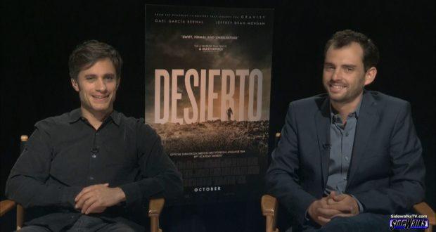 Gael Garcia Bernal and Jonas Cuaron (Desierto)