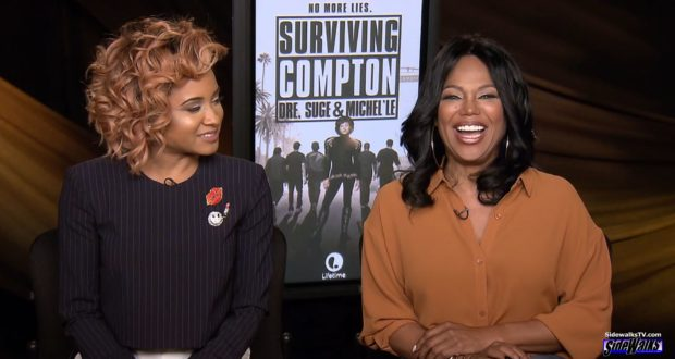 Rhyon Nicole Brown and Michel'le