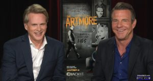 Dennis Quaid and Cary Elwes, the stars of Crackle's The Art of More