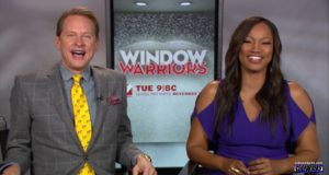 Carson Kressley and Garcelle Beauvais - Window Warriors