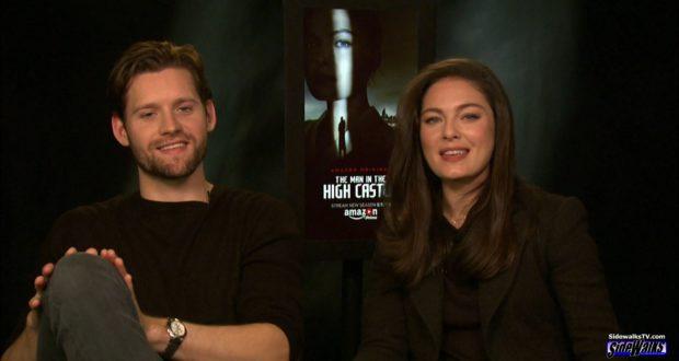 Luke Kleintank and Alexa Davalos - The Man in High Castle