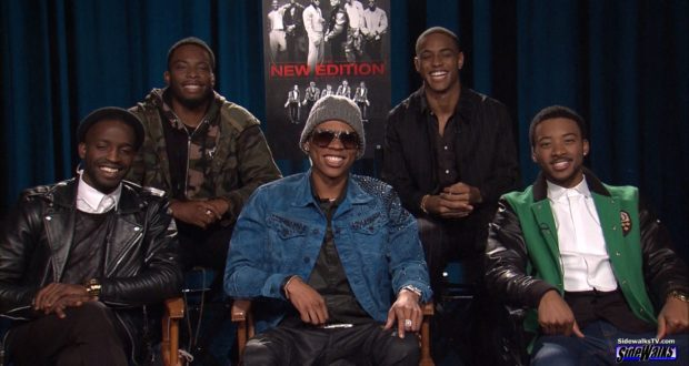 Cast of The New Edition Story