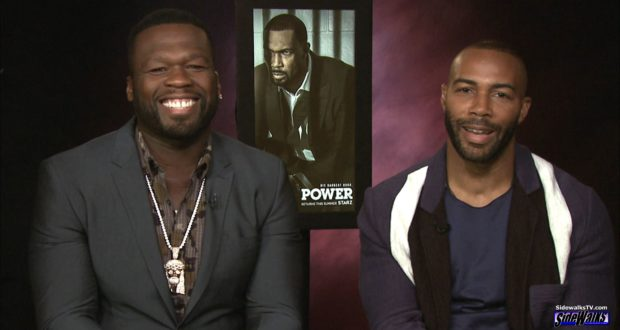 50 Cent and Omari Hardwick 2017