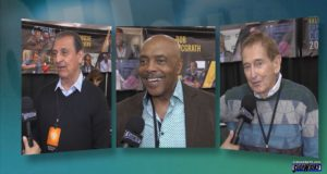 Stars of Sesame Street -Emilio Delgado, Roscoe Orman, and Bob McGrath