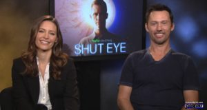 KaDee Strickland and Jeffrey Donovan (Shut Eye)