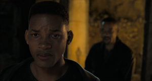 Two Will Smiths on screen