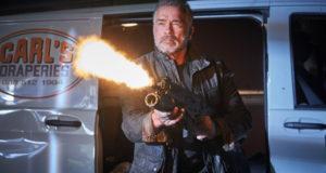 """Terminator Dark Fate"" image with Arnold Schwarzenegger"