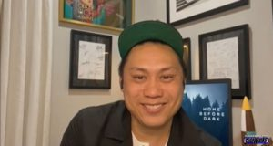 "Jon M. Chu talks about ""Home Before Dark"""