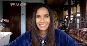Padma Lakshmi smiling