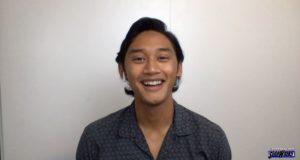 A happy Josh Dela Cruz